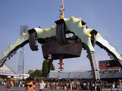 Koncert U2, Zagreb 10. avgust, stadion Maksimir