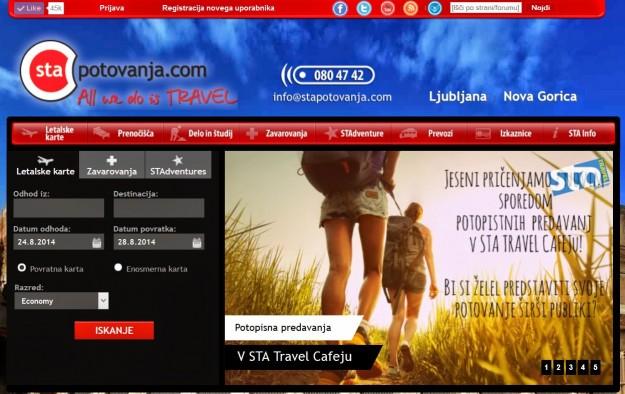 Cene letalskih kart – STA potovanja