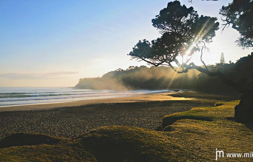 Sončni vzhod v Sandy Bay-u