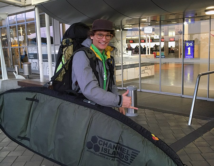 Odhod iz Aucklanda