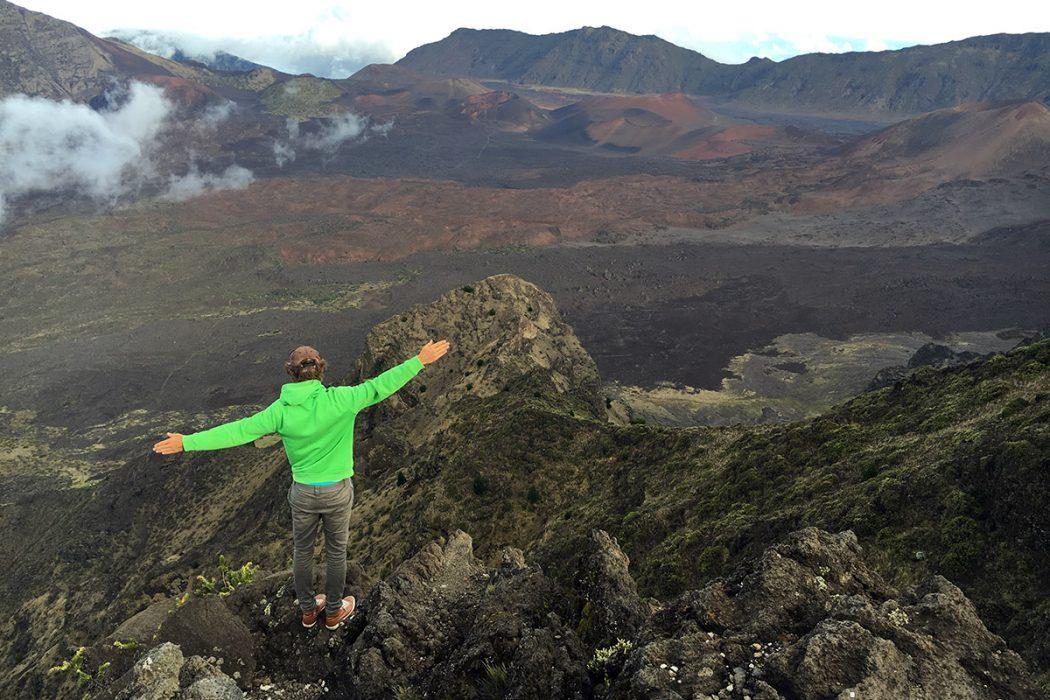 Pogled na krater