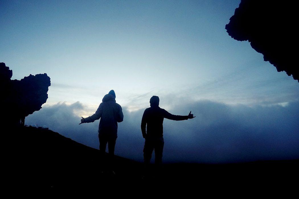 Sončni zahod na Haleakali