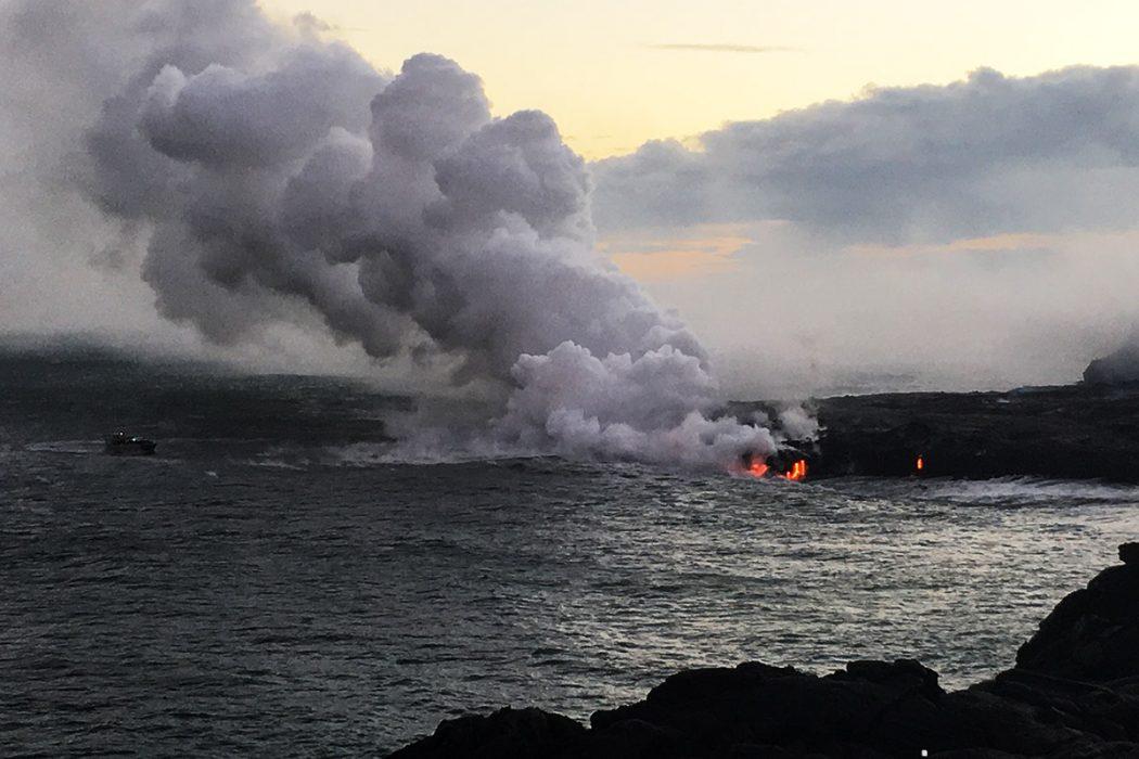Izliv lave v ocean