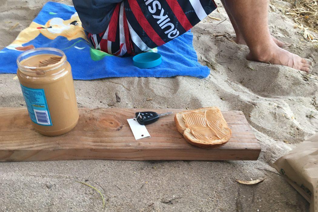 Zajtrk na plaži