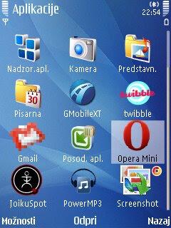 Top aplikacije za mobilne telefone s platformo Symbian