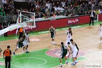 Dvorana Stožice in tekma Union Olimpija vs. Panathinaikos