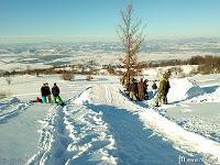 Ko na Dolenjskem zapade pol metra snega – Gorjanci…