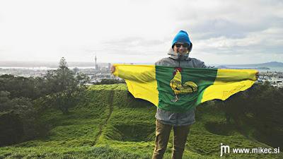 Zgodba šentjernejske zastave in kako je ta pripotovala na Novo Zelandijo